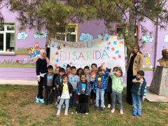"""Kırka'da """"Okul Dışarıda Günü"""" etkinliği"""