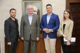 Kuzey Kafkas Kültür ve Dayanışma Derneği Başkan Kurt'u ziyaret etti