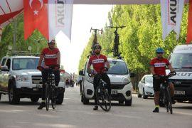 Milli mücadelenin başladığı topraklara bisikletle yolculuk başladı