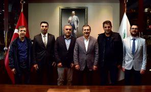 Özel Ümit Hastanesi'nden Ataç'a ziyaret
