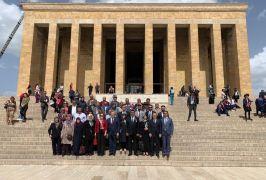 Şehit ailelerinden Anıtkabir ve TBMM ziyareti