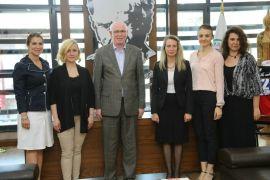 TOBB Eskişehir Kadın Girişimciler Kurulu'ndan Başkan Kurt'a ziyaret