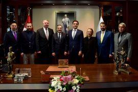 Türk Kızılayı'ndan Başkan Ataç'a ziyaret
