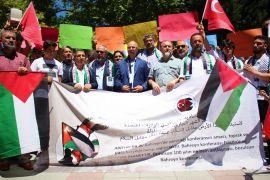 Bahreyn'deki çalıştaya Eskişehir'den protesto
