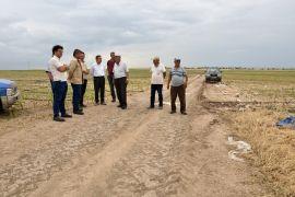 Başkan Ataç'tan üreticilere geçmiş olsun ziyareti