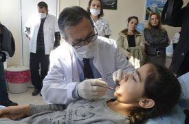 Çukurhisar Diş Kliniği'ne vatandaşlardan yoğun ilgi