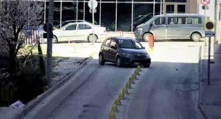 Eskişehir'deki trafik kazaları kameralara yansıdı
