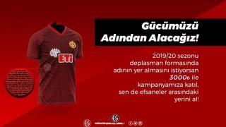 Eskişehirspor'da taraftar isimleri formaya kazınacak