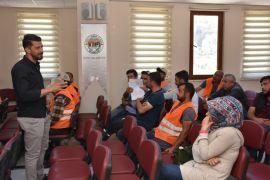 İnönü Belediyesinde iş güvenliği eğitim semineri