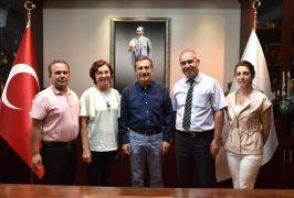 Nadir Erdem'den Başkan Ataç'a veda ziyareti