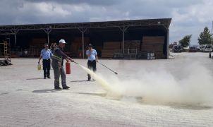 Tepebaşı Belediyesi personeline Temel Yangın Güvenliği eğitimi