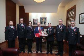 Vali Çakacak, Jandarma Teşkilatı'nın 180'inci kuruluş yıl dönümünü kutladı