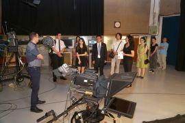 Çin Açık Üniversitesinden Anadolu Üniversitesine ziyaret