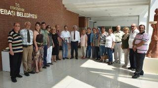 ESKÜDER Ahmet Ataç'ı ziyaret etti