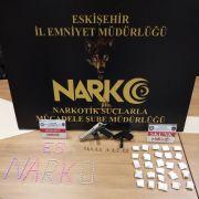 Eskişehir'de zehir taciri iki şüpheli yakalandı