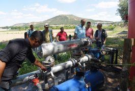 Eskişehir Orman Fidanlığı'nda otomatik sulama sistemine geçildi