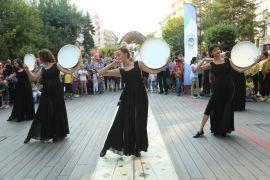 Odunpazarı'ndan Hamamyolu'nda muhteşem dans gösterisi