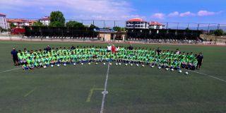 Odunpazarı Belediyesi Futbol Yaz Okulu çalışmaları