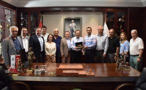 Odunpazarı meclis üyelerinden Ataç'a ziyaret
