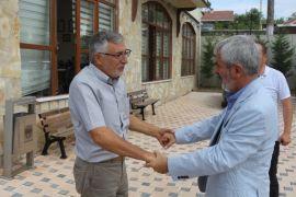 Sazak'tan Bozkurt'a hayırlı olsun ziyareti