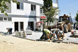 Tepebaşı Belediyesinden cami bahçelerini güzelleştirme çalışmaları