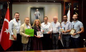 Başkan Ataç karikatüristlerle buluştu