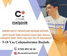Cedi Osman Academy Eskişehir açıldı