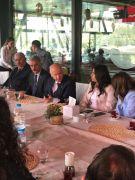 Devlet Bahçeli kahve içmeden Eskişehir'den ayrılmadı