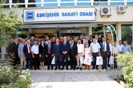 ESO yeni üye sanayicileri ile istişare ve tanışma toplantısı düzenledi