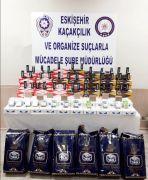 Eskişehir polisinden kaçak tütün operasyonu