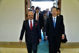 Japon liderden afetlere karşı işbirliği mesajı
