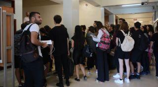 Tiyatro Anasanat Dalı adayları yetenek sınavlarında ter döktü
