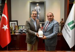 Yaylakent Belediye Başkanı Dede'den Ataç'a ziyaret