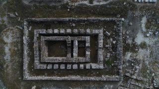 (Özel) Pessinus Antik Kenti'nin sırları korunuyor