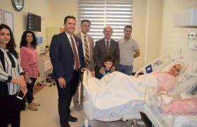 Yunus Emre Devlet Hastanesi Doğumhanesinde ilk bebek dünyaya geldi