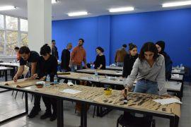 11. Uluslararası Anadolu Kaligrafi ve Tipografi Etkinliği öğrencilere ilham oluyor