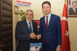 Bozkurt'tan Çimşir'e hayırlı olsun ziyareti