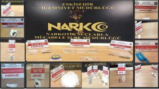 Eskişehir'de uyuşturucu operasyonu; 8 şüpheli yakalandı