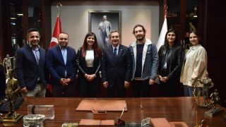 Eskişehir AB Derneği'nden Başkan Ataç'a ziyaret