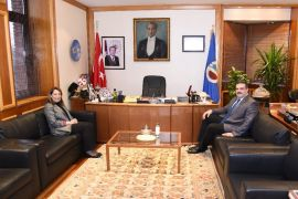 Eskişehir Milletvekili Prof. Dr. Günay, Rektör Çomaklı'yı ziyaret etti