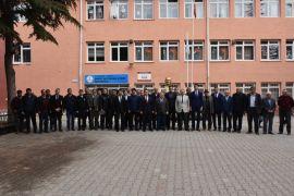 İnönü'de Güvenlik ve Muhtarlar Toplantısı