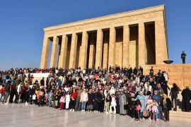 İnönü Belediyesi'nden Anıtkabir ziyareti