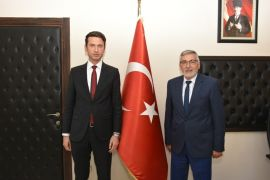 Kaymakam Çimşir'den Başkan Bozkurt'a ziyaret