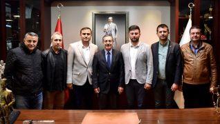 Kırka Spor Kulübü'nden Ataç'a ziyaret