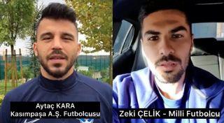 Milli futbolculardan Anadolu Üniversitesi U-12 takımına tebrik mesajı