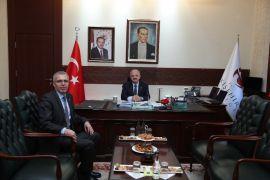 Vali Çakacak, Meteoroloji 3. Bölge Müdürü Tepe'yi kabul etti