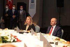 ESO, Vali Çakacak ve eşi Kevser Çakacak onuruna veda yemeği düzenledi
