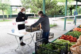 Ekolojik pazar Batıkent'te hizmete girdi