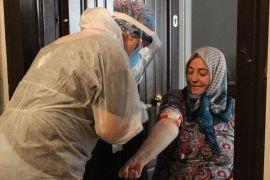 """Eskişehir'de Korona virüse karşı """"Toplum Tarama Çalışması"""" sürüyor"""