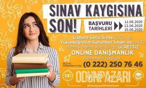 Odunpazarı'ndan LGS ve YKS'ye girecek olanlara online psikolojik danışmanlık